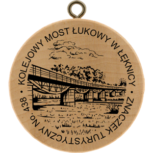 No. 438 - Kolejowy most łukowy w Łęknicy